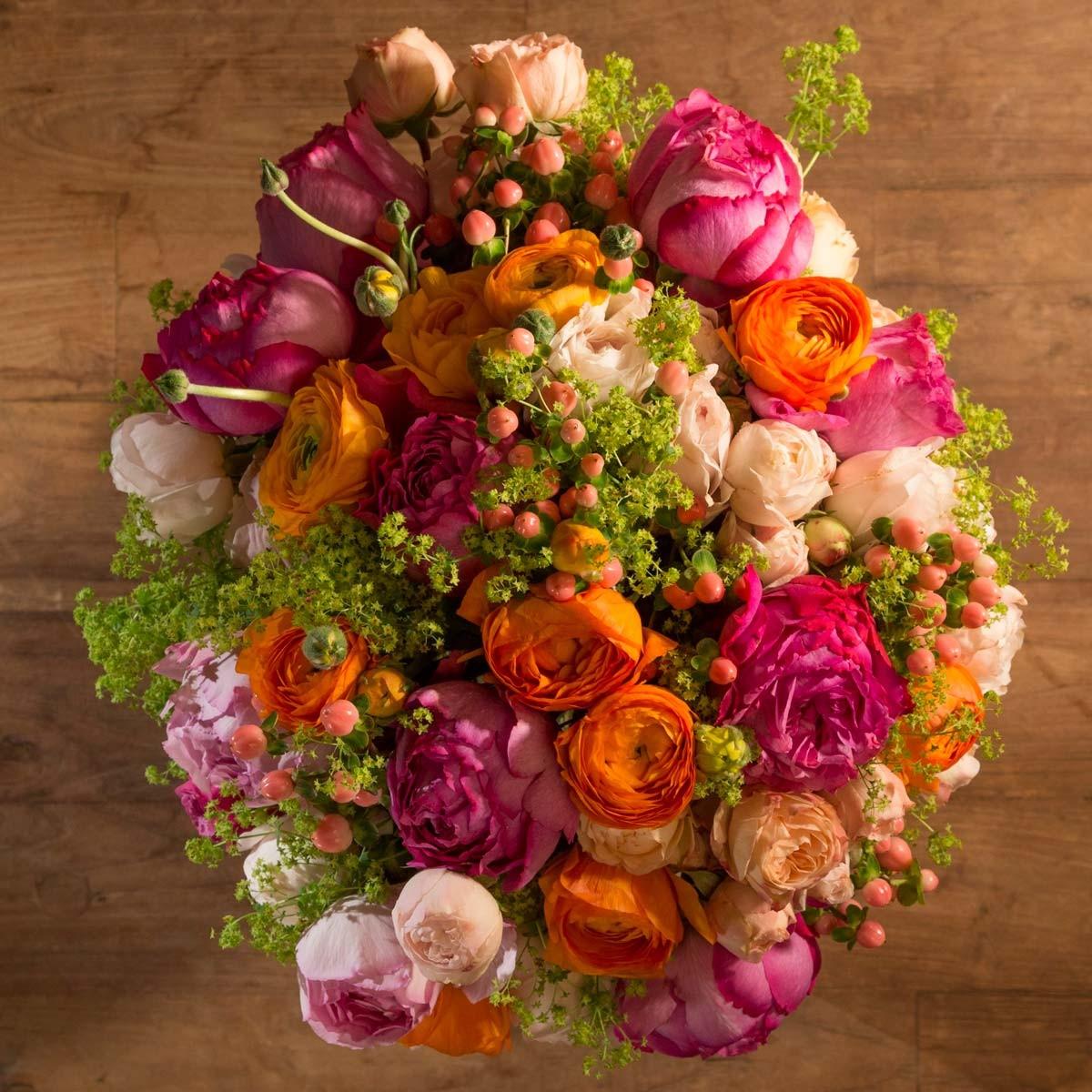 Livraison fleurs domicile le bouquet de fleurs c res for Bouquet de fleurs livraison