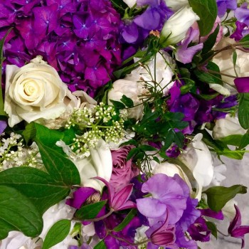 Eternel bouquet de fleurs