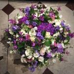 Panier de fleurs Eternel