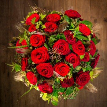 The Eros red roses
