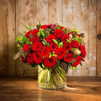Les roses rouges Éros