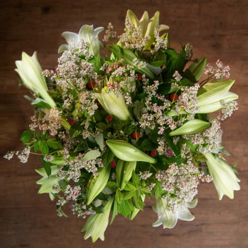 Bouquet de lys blancs - Héracles
