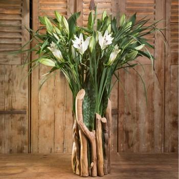 The Gaia white lilies